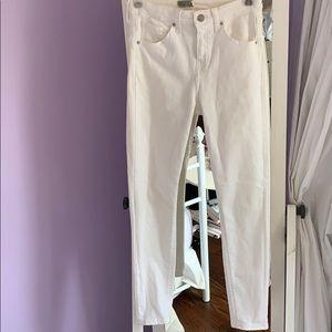 White Petite TOPSHOP Jeans